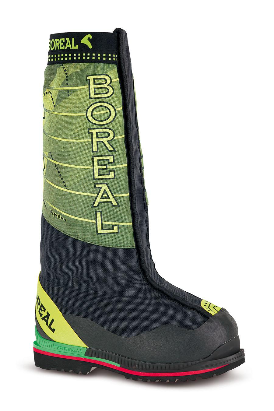 Ботинки Boreal G1-EXPE b47460Высотные альпинистские ботинки<br><br>Вентиляция стельки: Да<br>Вес пары размера 7 UK: 2920<br>Материал верха: износостойкий синтетический материал<br>Мембрана: Sympatex<br>Подошва: Vibram Teton<br>Пол: Унисекс<br>Промежуточная подошва: Boreal PBG-680<br>Рант для крепления &quot;кошек&quot;: Да<br>Режим эксплуатации: высотный альпинизм, экстремально холодные условия<br>Система виброгашения: Да<br>Система отвода влаги: Boreal Dry Line<br>Утеплитель: Thinsulate<br>Цельнокроеный верх: Нет