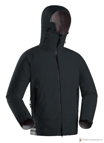 Куртка BASK GRAPHITE GELANOTS 4243aВысокотехнологичная легкая штормовая куртка, выполненная из трехслойной мембраной ткани Gelanots&amp;reg; .<br><br>Верхняя ткань: Gelanots®<br>Вес граммы: 560<br>Ветро-влагозащитные свойства верхней ткани: Да<br>Ветрозащитная планка: Да<br>Ветрозащитная юбка: Нет<br>Влагозащитные молнии: Да<br>Внутренние манжеты: Нет<br>Водонепроницаемость: 20000<br>Дублирующий центральную молнию клапан: Нет<br>Защитный козырёк капюшона: Да<br>Капюшон: несъемный<br>Карман для средств связи: Да<br>Количество внешних карманов: 3<br>Количество внутренних карманов: 1<br>Мембрана: Gelanots®<br>Объемный крой локтевой зоны: Да<br>Отстёгивающиеся рукава: Нет<br>Паропроницаемость: 20000<br>Пол: Унисекс<br>Проклейка швов: Да<br>Регулировка манжетов рукавов: Да<br>Регулировка низа: Да<br>Регулировка объёма капюшона: Да<br>Регулировка талии: Да<br>Регулируемые вентиляционные отверстия: Да<br>Световозвращающая лента: Нет<br>Технология Thermal Welding: Да<br>Технология швов: Thermal Welding<br>Тип молнии: двухзамковая влагозащитная<br>Ткань усиления: нет<br>Усиление контактных зон: Да<br>Размер INT: XL<br>Цвет: ЧЕРНЫЙ