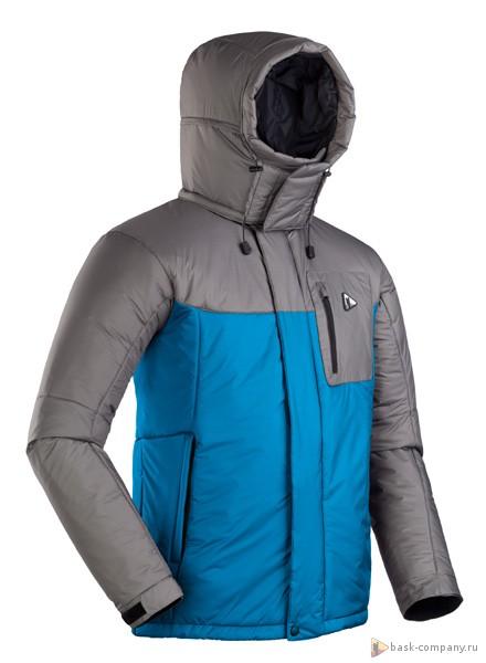 Куртка BASK HEAVEN PRIM 3781Куртки<br>Новая модель популярной, тёплой пуховой куртки Heaven, но на утеплителе Primaloft&amp;reg;.<br><br>Верхняя ткань: Advance® Ecliptic<br>Вес граммы: 950<br>Ветро-влагозащитные свойства верхней ткани: Да<br>Ветрозащитная планка: Да<br>Ветрозащитная юбка: Нет<br>Влагозащитные молнии: Нет<br>Внутренние манжеты: Нет<br>Внутренняя ткань: Advance® Classic<br>Водонепроницаемость: 1000<br>Дублирующий центральную молнию клапан: Да<br>Защитный козырёк капюшона: Нет<br>Капюшон: Съемный<br>Карман для средств связи: Да<br>Количество внешних карманов: 3<br>Количество внутренних карманов: 2<br>Мембрана: Advance MPC<br>Объемный крой локтевой зоны: Нет<br>Отстёгивающиеся рукава: Нет<br>Паропроницаемость: 7000<br>Пол: Мужской<br>Проклейка швов: Нет<br>Регулировка манжетов рукавов: Да<br>Регулировка низа: Да<br>Регулировка объёма капюшона: Да<br>Регулировка талии: Да<br>Регулируемые вентиляционные отверстия: Нет<br>Световозвращающая лента: Нет<br>Температурный режим: -15<br>Технология Thermal Welding: Нет<br>Технология швов: Простые<br>Тип молнии: Двухзамковая<br>Тип утеплителя: Синтетический<br>Ткань усиления: Нет<br>Усиление контактных зон: Да<br>Утеплитель: Primaloft® Sport 170г/м2<br>Размер RU: 56<br>Цвет: СЕРЫЙ