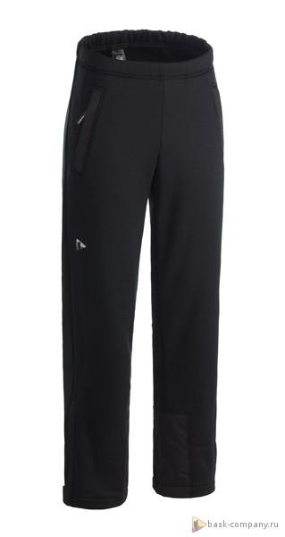 Брюки BASK BORA Light 3786Универсальные спортивные брюки из легкой и тёплой ветрозащитной ткани Polartec&amp;reg; Wind Pro&amp;reg;.<br><br>Верхняя ткань: Polartec Wind Pro<br>Вес граммы: 545<br>Влагозащитные молнии: Нет<br>Количество внешних карманов: 3<br>Объемный крой коленей: Да<br>Отстегивающийся задний клапан: Нет<br>Пол: Унисекс<br>Регулировка объема нижней части штанин: Нет<br>Регулировка пояса: Да<br>Регулируемые бретели: Нет<br>Регулируемые вентиляционные отверстия: Нет<br>Самосбросы: Нет<br>Система крепления к нижней части брюк: Нет<br>Снегозащитные муфты: Нет<br>Съемные защитные вкладыши: Нет<br>Технология Thermal Welding: Нет<br>Усиление швов закрепками: Нет<br>Функциональная молния спереди: Нет<br>Размер INT: M<br>Цвет: ЧЕРНЫЙ