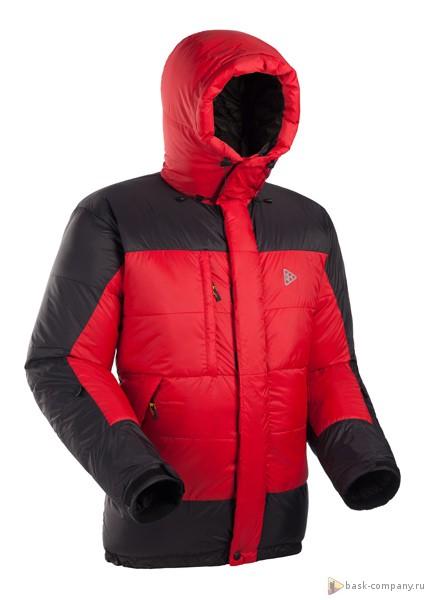 Пуховая куртка BASK EVEREST 3805Куртки<br><br><br>&quot;Дышащие&quot; свойства: Да<br>Верхняя ткань: Advance® Perfomance<br>Вес граммы: 780<br>Вес утеплителя: 390<br>Ветро-влагозащитные свойства верхней ткани: Да<br>Ветрозащитная планка: Да<br>Ветрозащитная юбка: Нет<br>Влагозащитные молнии: Нет<br>Внутренние манжеты: Нет<br>Внутренняя ткань: Advance® Classic<br>Водонепроницаемость: 1000<br>Дублирующий центральную молнию клапан: Да<br>Защитный козырёк капюшона: Нет<br>Капюшон: Несъемный<br>Карман для средств связи: Нет<br>Количество внешних карманов: 3<br>Количество внутренних карманов: 2<br>Коллекция: Alpine Expert DOWN<br>Мембрана: Advance MPC<br>Объемный крой локтевой зоны: Да<br>Отстёгивающиеся рукава: Нет<br>Паропроницаемость: 7000<br>Показатель Fill Power (для пуховых изделий): 780<br>Пол: Мужской<br>Проклейка швов: Нет<br>Регулировка манжетов рукавов: Да<br>Регулировка низа: Да<br>Регулировка объёма капюшона: Да<br>Регулировка талии: Да<br>Регулируемые вентиляционные отверстия: Нет<br>Световозвращающая лента: Нет<br>Температурный режим: -25<br>Технология Thermal Welding: Нет<br>Технология швов: Теплые и закрытые<br>Тип молнии: Двухзамковая<br>Тип утеплителя: Натуральный<br>Ткань усиления: Нет<br>Усиление контактных зон: Нет<br>Утеплитель: Гусиный пух<br>Размер RU: 56<br>Цвет: КРАСНЫЙ