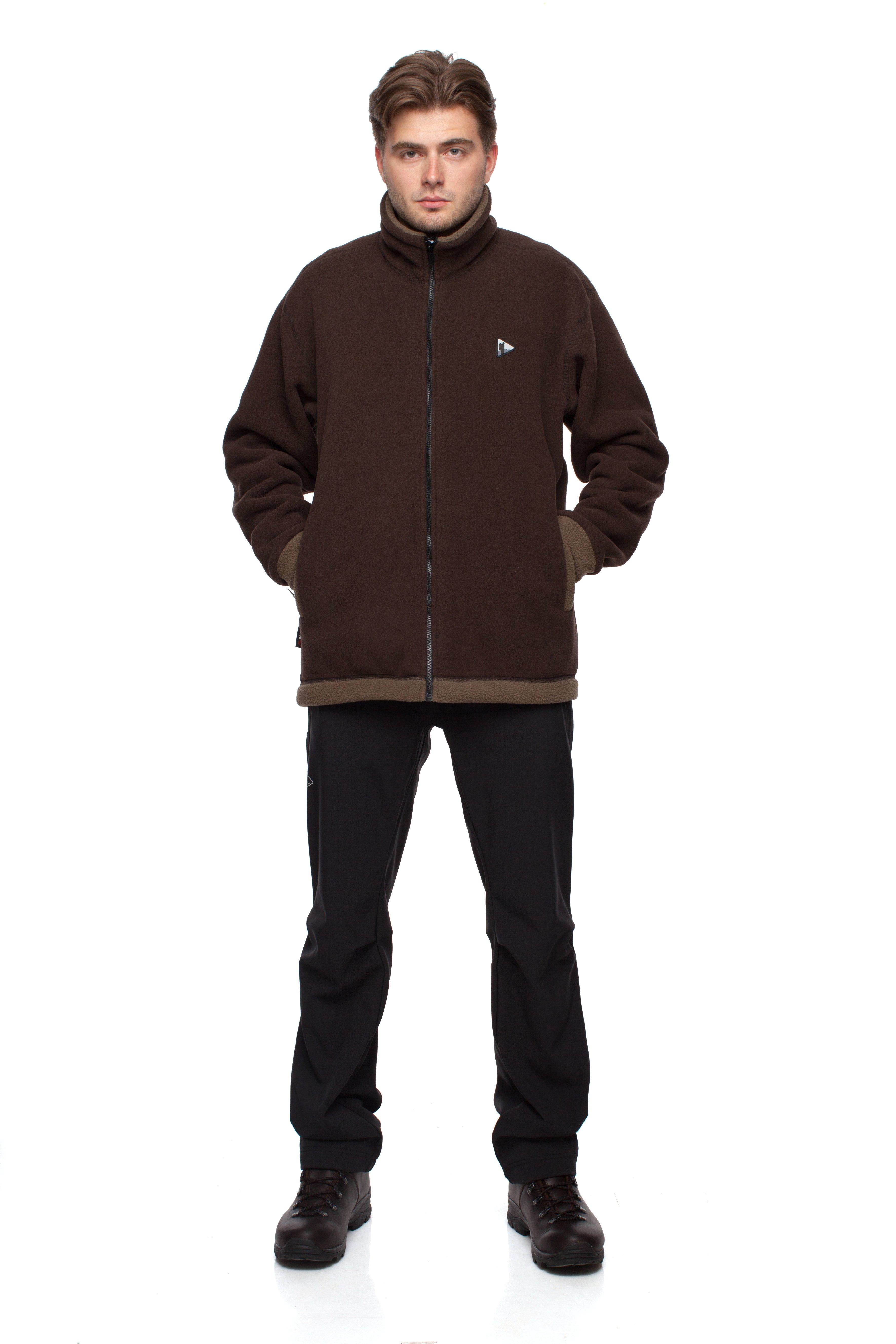 Куртка BASK GUDZON 655Куртка из ткани Polartec® Classic® - 375, самой теплой в серии Polartec®. Повышенная относительно ткани Polartec® 200 ветроустойчивость, ворсистая внутренняя поверхность сохраняет тепло. Для достижения максимального комфорта применена технология плоские швы.<br><br>Боковые карманы: 2<br>Вес граммы: 810<br>Ветрозащитная планка: Да<br>Внутренние карманы: 2<br>Материал: Polartec® Classic® 375<br>Материал усиления: нет<br>Пол: Муж.<br>Регулировка вентиляции: Нет<br>Регулировка низа: Да<br>Регулируемые вентиляционные отверстия: Нет<br>Тип молнии: однозамковая<br>Усиление контактных зон: Нет<br>Размер INT: L<br>Цвет: БЕЖЕВЫЙ