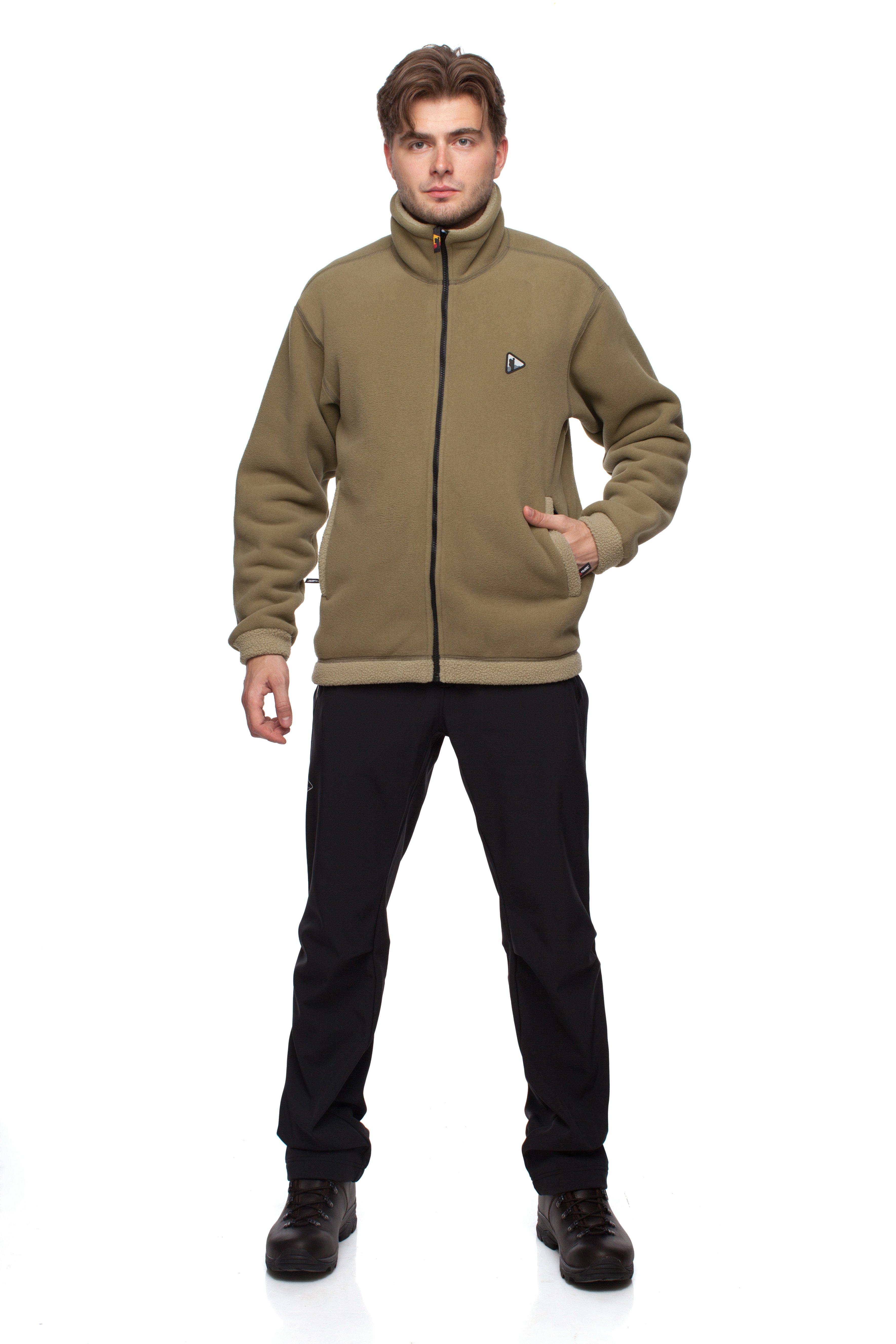 Куртка BASK GUDZON 655Куртка из ткани Polartec&amp;reg; Classic&amp;reg; 375, самой теплой в серии Polartec&amp;reg;. Ткань более ветроустойчива по сравнению с другими тканями серии, ворсистая внутренняя поверхность лучше сохраняет тепло. Для достижения максимального комфорта применена технология плоские швы.<br><br>Боковые карманы: 2<br>Вес граммы: 810<br>Ветрозащитная планка: Да<br>Внутренние карманы: 2<br>Материал: Polartec® Classic 375<br>Материал усиления: нет<br>Пол: Муж.<br>Регулировка вентиляции: Нет<br>Регулировка низа: Да<br>Регулируемые вентиляционные отверстия: Нет<br>Тип молнии: Однозамковая<br>Усиление контактных зон: Нет<br>Размер INT: L<br>Цвет: ЗЕЛЕНЫЙ