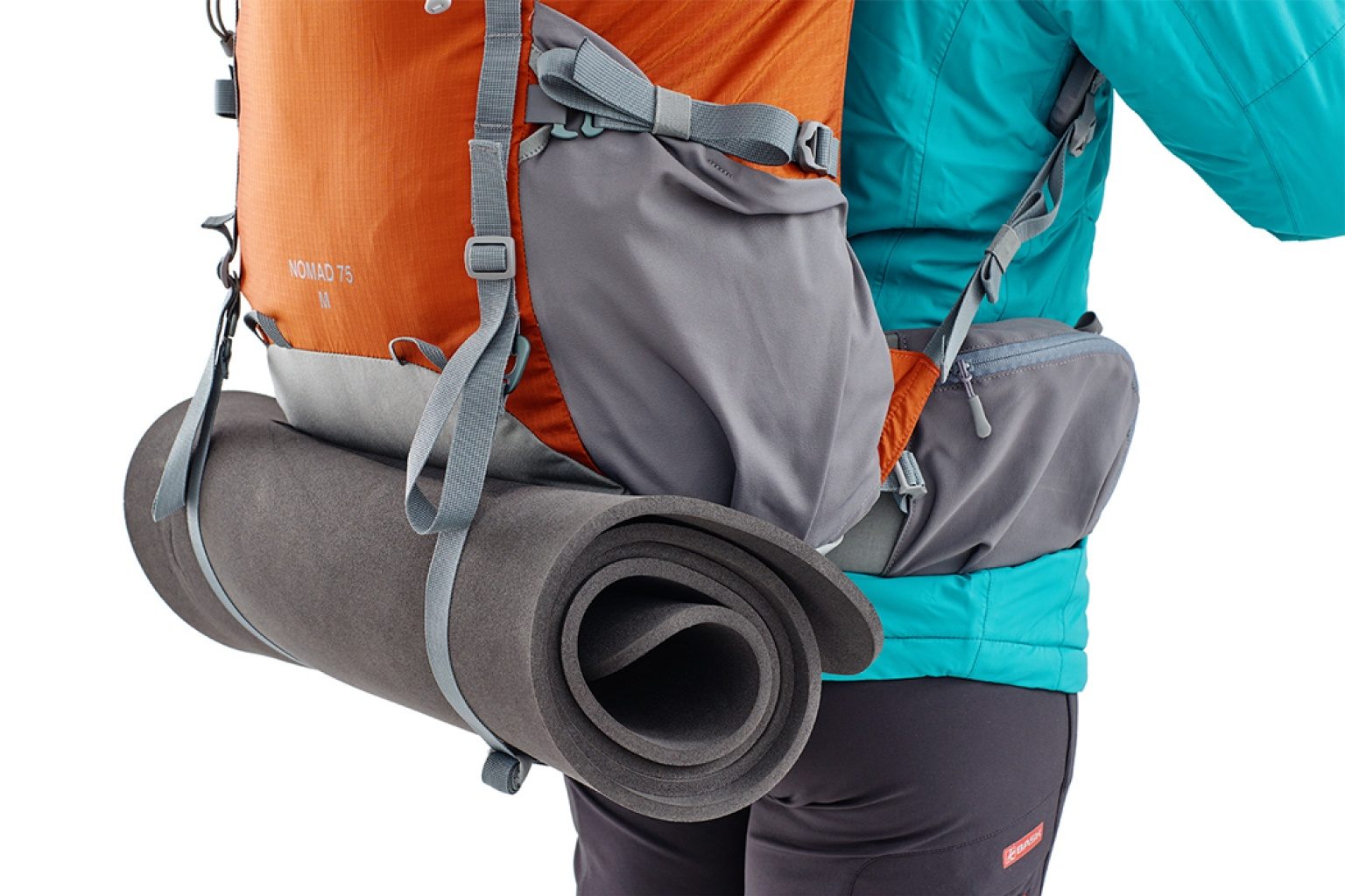 BASK Съемные нижние затяжки (2шт.) для серии рюкзаков NOMAD 1499Разные аксессуары<br><br><br>Вес граммы: 34<br>Материал изготовления: Полиамид 100%<br>Цвет: СЕРЫЙ
