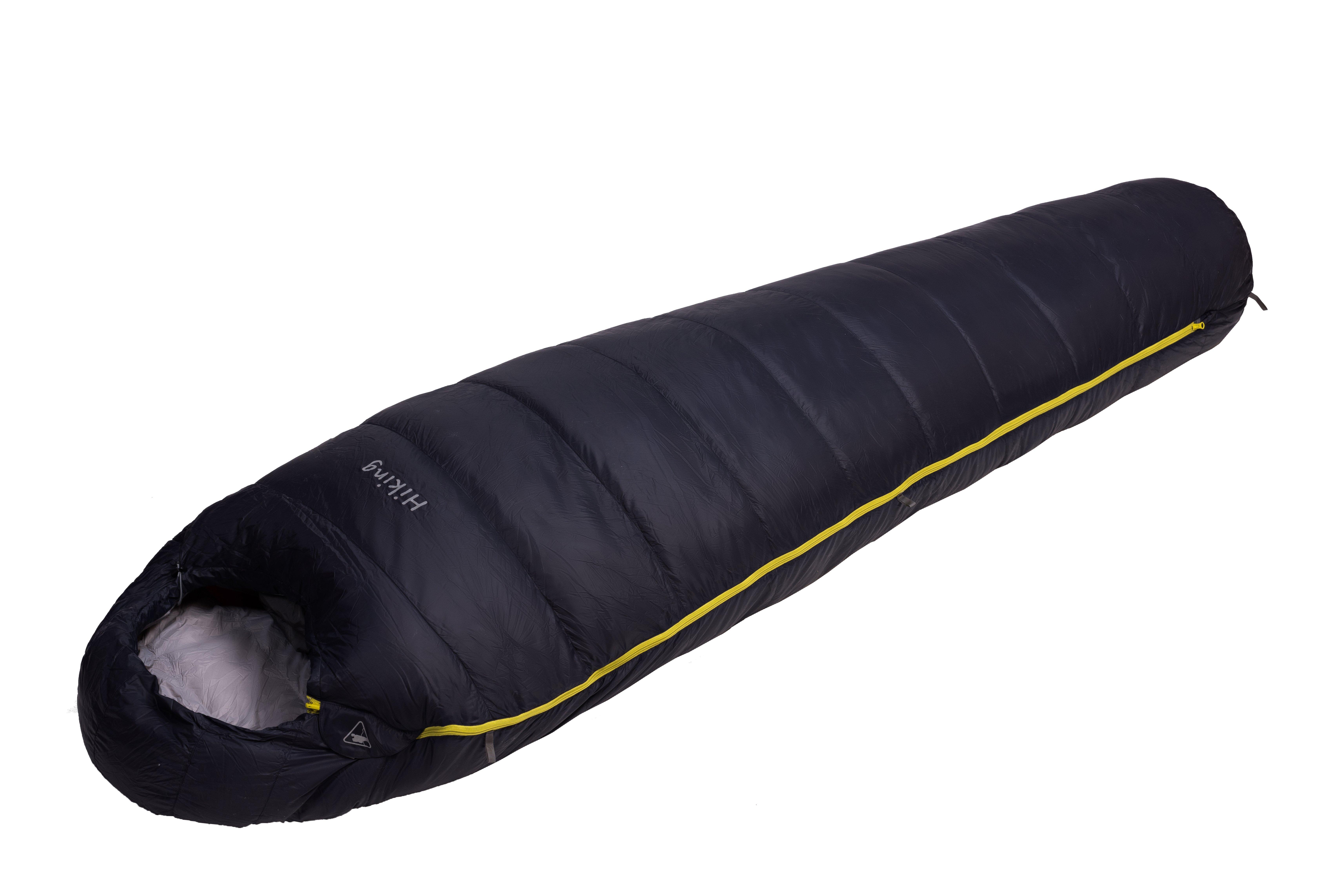 Спальный мешок БАСК HIKING-S-850+ 1484Лёгкий и тёплый пуховый спальный мешок размера S с температурным режимом до-25&amp;ordm;С.<br><br>Верхняя ткань: Advance®Superior<br>Вес без упаковки: 930<br>Вес упаковки: 90<br>Вес утеплителя: 490<br>Внутренняя ткань: Advance®Superior<br>Возможность состегивания: Да<br>Количество слоев утеплителя: 1<br>Назначение: Туризм<br>Наличие карманов: Да<br>Нижняя температура комфорта °C: -7<br>Подголовник/Капюшон: Да<br>Показатель Fill Power (для пуховых изделий): 850<br>Пол: Унисекс<br>Размер в упакованном виде (диаметр х длина): 18х46<br>Размеры наружные (внутренние): 215x192x80x55<br>Система расположения слоев утеплителя или пуховых пакетов: Смещенные швы<br>Температура комфорта °C: -1<br>Тесьма вдоль планки: Да<br>Тип молнии: Двухзамковая-разъёмная<br>Тип утеплителя: Натуральный<br>Утеплитель: Гусиный пух<br>Утепляющая планка: Да<br>Форма: Кокон<br>Шейный пакет: Да<br>Экстремальная температура °C: -25