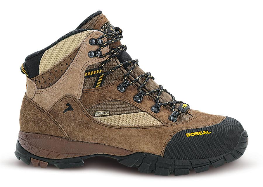 Ботинки Boreal CAYENNE B44880Легкие ботинки для треккинга,<br><br>Вентиляция стельки: Да<br>Вес пары размера 7 UK: 1150<br>Материал верха: Высококачественная кожа  2мм с влагозащитной обработкой в комбинации с прочным материалом Teramida SL<br>Мембрана: Sympatex<br>Подошва: Vibram Ananasi<br>Пол: Муж.<br>Промежуточная подошва: Boreal PXF<br>Рант для крепления &quot;кошек&quot;: Нет<br>Режим эксплуатации: 2-3х сезонные ботинки для трекинга, горных походов, путешествий, пеших прогулок.<br>Система виброгашения: Да<br>Система отвода влаги: Boreal Dry Line<br>Цельнокроеный верх: Нет<br>Размер RU: 44.5<br>Цвет: КОРИЧНЕВЫЙ
