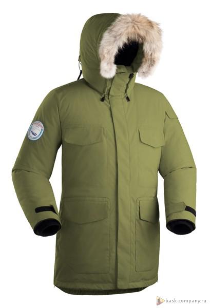 Пуховая куртка BASK TAIMYR 3773Самая многофункциональная и теплая куртка в серии &amp;laquo;За Полярным Кругом&amp;raquo;.<br><br>Верхняя ткань: Advance® Alaska<br>Вес граммы: 2550<br>Вес утеплителя: 430<br>Ветро-влагозащитные свойства верхней ткани: Да<br>Ветрозащитная планка: Нет<br>Ветрозащитная юбка: Да<br>Влагозащитные молнии: Нет<br>Внутренние манжеты: Да<br>Внутренняя ткань: Advance® Classic<br>Водонепроницаемость: 5000<br>Дублирующий центральную молнию клапан: Да<br>Защитный козырёк капюшона: Нет<br>Капюшон: несъемный<br>Карман для средств связи: Да<br>Количество внешних карманов: 9<br>Количество внутренних карманов: 2<br>Коллекция: Pole to Pole<br>Мембрана: да<br>Объемный крой локтевой зоны: Да<br>Отстёгивающиеся рукава: Нет<br>Паропроницаемость: 5000<br>Показатель Fill Power (для пуховых изделий): 650<br>Проклейка швов: Нет<br>Регулировка манжетов рукавов: Да<br>Регулировка низа: Нет<br>Регулировка объёма капюшона: Да<br>Регулировка талии: Да<br>Регулируемые вентиляционные отверстия: Нет<br>Световозвращающая лента: Нет<br>Температурный режим: -40<br>Технология Thermal Welding: Нет<br>Технология швов: простые<br>Тип молнии: двухзамковая<br>Тип утеплителя: натуральный<br>Ткань усиления: нет<br>Усиление контактных зон: Да<br>Утеплитель: гусиный пух<br>Размер RU: 42<br>Цвет: ЧЕРНЫЙ