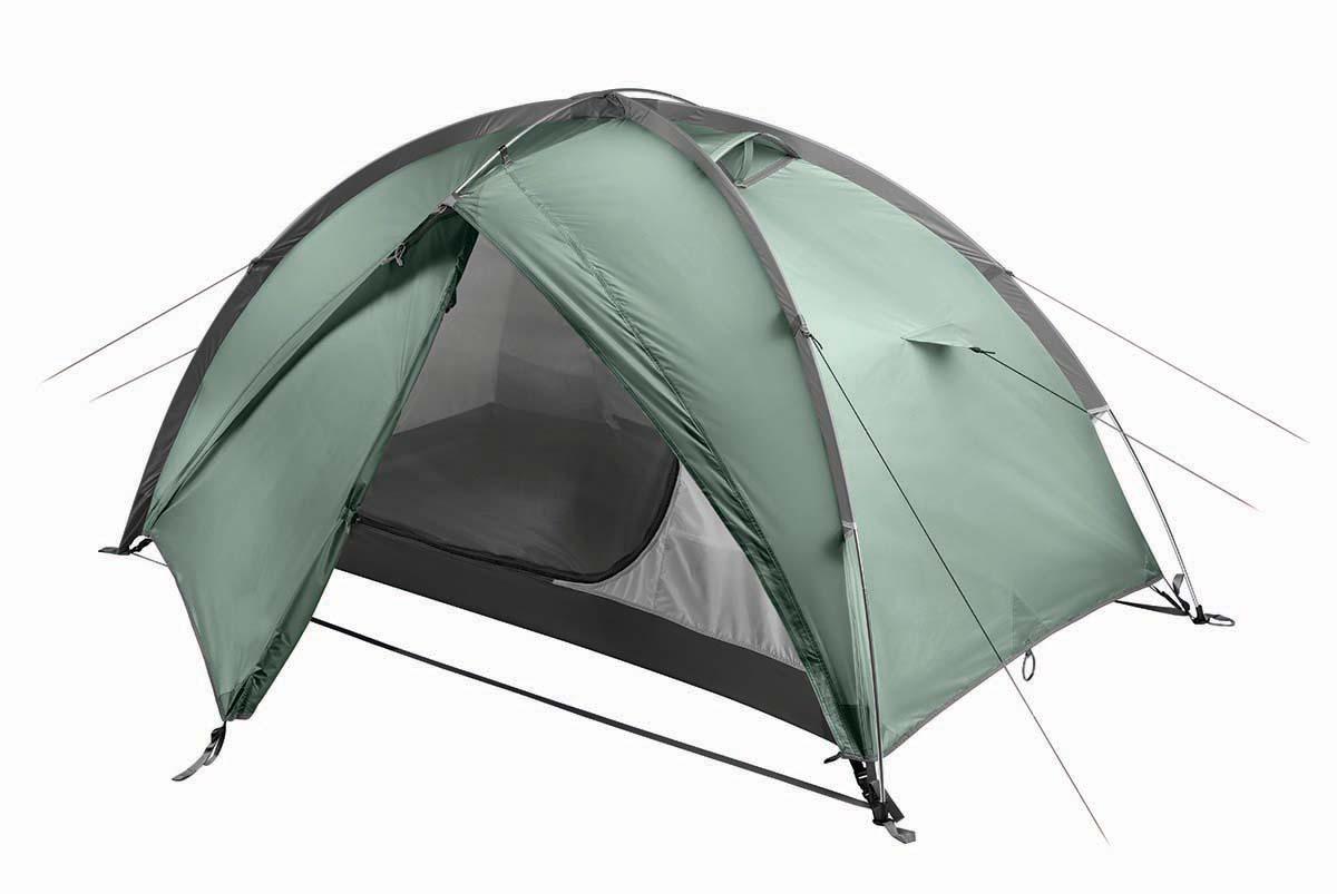 Палатка BASK BONZER 2 4048Палатки<br><br><br>Вентиляционные окна: 2<br>Вес (в минимальной комплектации): 2.9<br>Вес (в полной комплектации): 3<br>Ветрозащитные юбки: Нет<br>Внутренние карманы и петельки для мелочей: Да<br>Водостойкость дна: 5000<br>Водостойкость тента: 3000<br>Диаметр стоек каркаса: 9.5<br>Количество входов: 2<br>Количество мест: 2<br>Количество оттяжек: 6<br>Количество стоек каркаса: 3<br>Материал внешнего тента: 75D Poly Taffeta 190T PU  3 000 мм, W/R<br>Материал внутренней палатки: 70D Poly RipStop 190T breathable  W/R<br>Материал дна: 70D Nylon Taffeta 210T PU 5 000 мм, W/R<br>Материал каркаса: Алюминиевый сплав 7001 T6<br>Назначение: Трекинговая<br>Обработка ткани палатки: Водоотталкивающая пропитка (W/R), дышащая<br>Обработка ткани тента: PU (внутренняя поверхность покрыта полиуретаном)<br>Подвесная полка: Да<br>Проклейка швов: Да<br>Противо москитная сетка: Да<br>Размер в упакованом виде: ?16x45 см<br>Способ установки: Возможность установки тента без внутренней палатки<br>Тип входа: На молнии<br>Цвет: ЗЕЛЕНЫЙ