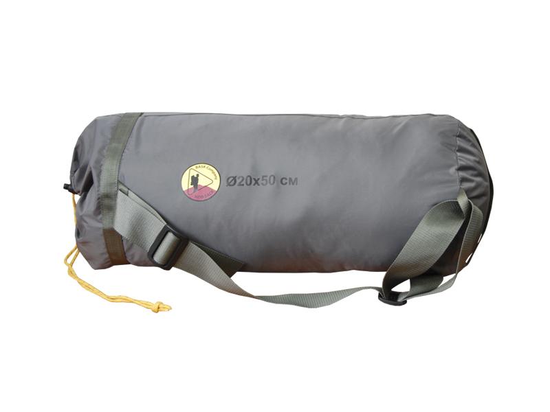 BASK Чехол для палатки М 55111Чехол размера M для упаковки 2х-3х местных палаток. Прочный и удобный. Снабжен съёмной стропой для переноски в руках и на плече.<br><br>Вес граммы: 80<br>Материал изготовления: 70D Nylon Taffeta 210T PU 6000 мм, W/R<br>Размеры: D20х50 см