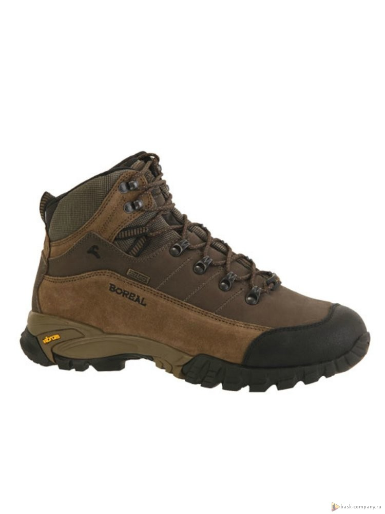 Ботинки Boreal BALKAN b449702-3х сезонные ботинки для трекинга, горных походов, путешествий, пеших прогулок<br><br>Вес пары размера 7 UK: 1250<br>Материал верха: Водонепроницаемая натуральная кожа и Нубук 2,6мм<br>Мембрана: Система Boreal Dry-Line®<br>Подошва: Vibram Nuasi<br>Пол: Унисекс<br>Размер (Россия): 38-45,5<br>Режим эксплуатации: 2-3х сезонные ботинки для трекинга, горных походов, путешествий, пеших прогулок<br>Система виброгашения: Да<br>Размер RU: 8<br>Цвет: КОРИЧНЕВЫЙ