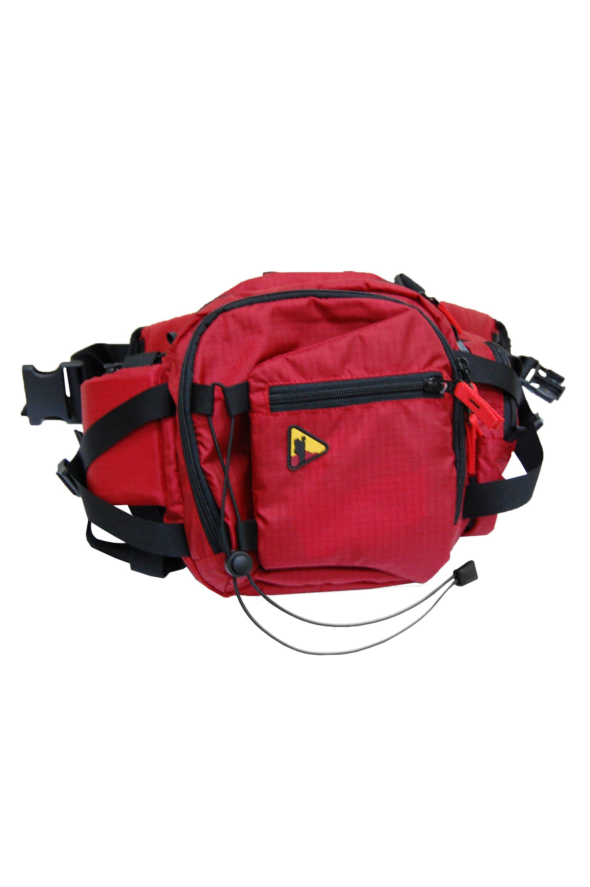 Сумка на пояс BASK CESTUS V2 5093aСумка на пояс. Удобна в тех случаях, когда рюкзак неуместен.<br><br>Анатомическая конструкция спины и ремней: Нет<br>Вентиляция спины: Нет<br>Вес граммы: 460<br>Внутренние карманы: Нет<br>Внутренняя перегородка: Нет<br>Возможность крепления сноуборда/скейтборда/лыж: Нет<br>Грудной фиксатор: Нет<br>Карман для гидратора: Нет<br>Накидка от дождя: Нет<br>Нижний вход: Нет<br>Пол: Унисекс<br>Регулировка угла наклона пояса: Нет<br>Светоотражающий кант: Нет<br>Ткань: 210D Robic® Triple Rip<br>Усиление дна: Нет<br>Фурнитура: Duraflex®<br>Цвет: КРАСНЫЙ
