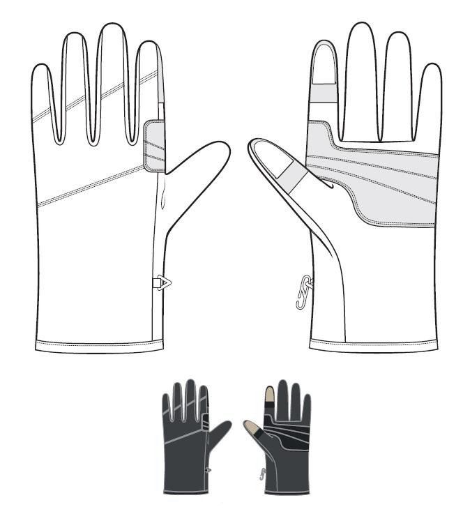 Перчатки BASK M-TOUCH GLOVE 1204