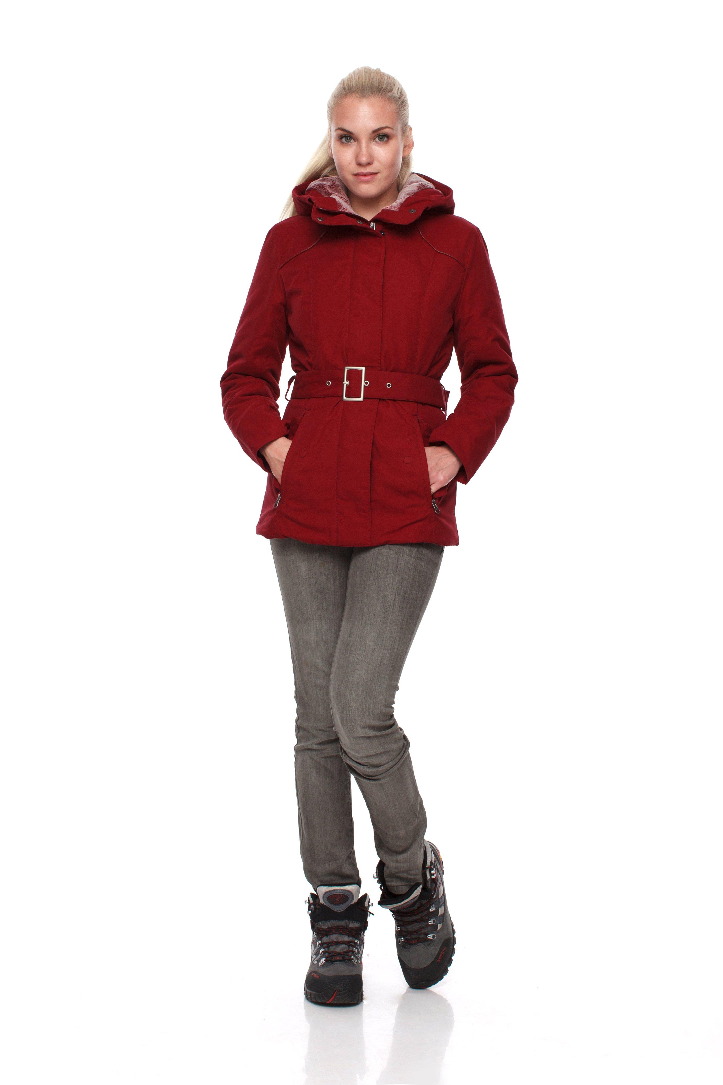 Куртка BASK SHL FURY 5455Куртки<br>Элегантная женская куртка для города на cинтетическом утеплителе Shelter®Sport из коллекции BASK City.<br><br>Верхняя ткань: Nylon 50%,Cotton 50%,Teflon WR<br>Ветро-влагозащитные свойства верхней ткани: Да<br>Ветрозащитная планка: Да<br>Ветрозащитная юбка: Нет<br>Влагозащитные молнии: Нет<br>Внутренние манжеты: Да<br>Внутренняя ткань: Advance® Classic<br>Дублирующий центральную молнию клапан: Да<br>Защитный козырёк капюшона: Нет<br>Капюшон: Несъемный<br>Количество внешних карманов: 2<br>Количество внутренних карманов: 2<br>Мембрана: Нет<br>Объемный крой локтевой зоны: Нет<br>Отстёгивающиеся рукава: Нет<br>Проклейка швов: Нет<br>Регулировка манжетов рукавов: Нет<br>Регулировка низа: Нет<br>Регулировка объёма капюшона: Да<br>Регулировка талии: Да<br>Регулируемые вентиляционные отверстия: Нет<br>Световозвращающая лента: Нет<br>Температурный режим: -10<br>Технология Thermal Welding: Нет<br>Технология швов: Простые<br>Тип молнии: Однозамковая<br>Тип утеплителя: Синтетический<br>Ткань усиления: Нет<br>Усиление контактных зон: Нет<br>Утеплитель: Shelter®Sport<br>Размер RU: 42<br>Цвет: КРАСНЫЙ
