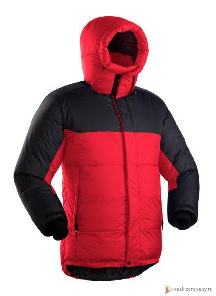 Куртка BASK KHAN TENGRI V6 PRO 3324cСамый знаменитый зимний мужской пуховик из коллекции BASK. Предназначен для самых суровых погодных условий: восхождений на 8-тысячники, полярных экспедиций, северных регионов России.<br><br>Верхняя ткань: Advance® Perfomance<br>Вес граммы: 1200<br>Вес утеплителя: 540<br>Ветро-влагозащитные свойства верхней ткани: Нет<br>Ветрозащитная планка: Да<br>Ветрозащитная юбка: Да<br>Влагозащитные молнии: Нет<br>Внутренние манжеты: Да<br>Внутренняя ткань: Advance® Classic<br>Водонепроницаемость: 1000<br>Дублирующий центральную молнию клапан: Да<br>Защитный козырёк капюшона: Нет<br>Капюшон: отстегивается<br>Карман для средств связи: Да<br>Количество внешних карманов: 3<br>Количество внутренних карманов: 2<br>Мембрана: Advance MPC<br>Объемный крой локтевой зоны: Да<br>Отстёгивающиеся рукава: Нет<br>Паропроницаемость: 7000<br>Показатель Fill Power (для пуховых изделий): 810<br>Пол: Муж.<br>Проклейка швов: Нет<br>Регулировка манжетов рукавов: Да<br>Регулировка низа: Да<br>Регулировка объёма капюшона: Да<br>Регулировка талии: Да<br>Регулируемые вентиляционные отверстия: Нет<br>Световозвращающая лента: Нет<br>Температурный режим: -35<br>Технология Thermal Welding: Нет<br>Технология швов: теплые и закрытые<br>Тип утеплителя: натуральный<br>Ткань усиления: Advance® Perfomance<br>Усиление контактных зон: Да<br>Утеплитель: гусиный пух<br>Размер RU: 52<br>Цвет: КРАСНЫЙ