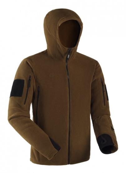 Куртка BASK POL RANGER H2089Флисовые куртки<br>Мужская куртка с капюшоном из ткани Polartec® 200. Анатомический крой. Предназначена для всесезонного использования. Зимой в качестве утепляющего слоя, а в весенне-летне-осенний сезон - как самостоятельная куртка.<br><br>Боковые карманы: 2<br>Вес граммы: 600<br>Внутренние карманы: Нет<br>Материал: Polartec® Classic® 200<br>Пол: Мужской<br>Регулировка низа: Да<br>Тип молнии: Однозамковая<br>Размер INT: M<br>Цвет: ХАКИ