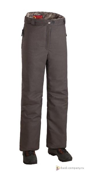 Брюки BASK MANARAGA THL SOFT 8204Прямые, не очень узкие зимние женские утепленные брюки - это идеальный вариантдля комплекта к курткам из женской серии &amp;laquo;За Полярным Кругом&amp;raquo;.<br><br>&quot;Дышащие&quot; свойства: Да<br>Верхняя ткань: Advance® Alaska Soft Melange<br>Вес граммы: 849<br>Влагозащитные молнии: Нет<br>Влагонепроницаемость: 10000<br>Внутренняя ткань: Advance® Classic<br>Водонепроницаемость: 10000<br>Количество внешних карманов: 2<br>Коллекция: Pole to Pole<br>Объемный крой коленей: Нет<br>Отстегивающийся задний клапан: Нет<br>Паропроницаемость: 5000<br>Пол: Жен.<br>Регулировка объема нижней части штанин: Да<br>Регулировка пояса: Да<br>Регулируемые бретели: Нет<br>Регулируемые вентиляционные отверстия: Нет<br>Самосбросы: Нет<br>Система крепления к нижней части брюк: Нет<br>Снегозащитные муфты: Нет<br>Съемные защитные вкладыши: Нет<br>Температурный режим: -25<br>Технология Thermal Welding: Нет<br>Тип утеплителя: синтетический<br>Тип шва: плоские<br>Ткань усиления: нет<br>Усиление швов закрепками: Да<br>Утеплитель: Shelter®Sport<br>Функциональная молния спереди: Да<br>Размер INT: L<br>Цвет: СЕРЫЙ