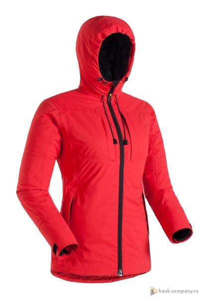 Куртка BASK SHL NARA LADY 3891Куртка женская универсальная с проклеенными швами. Позволяет в силу хороших дышащих свойств мембраны эксплуатировать куртку от +8 до -15С в условиях повышенной влажности, дожде и мокром снеге.<br><br>Верхняя ткань: Gelanots® 2L<br>Вес граммы: 730<br>Ветро-влагозащитные свойства верхней ткани: Да<br>Ветрозащитная планка: Да<br>Ветрозащитная юбка: Нет<br>Влагозащитные молнии: Да<br>Внутренние манжеты: Нет<br>Внутренняя ткань: Advance® Classic<br>Водонепроницаемость: 20000<br>Дублирующий центральную молнию клапан: Нет<br>Защитный козырёк капюшона: Да<br>Капюшон: несъемный<br>Карман для средств связи: Нет<br>Количество внешних карманов: 3<br>Количество внутренних карманов: 2<br>Мембрана: Gelanots®<br>Объемный крой локтевой зоны: Да<br>Отстёгивающиеся рукава: Нет<br>Паропроницаемость: 15000<br>Пол: Жен.<br>Проклейка швов: Да<br>Регулировка манжетов рукавов: Да<br>Регулировка низа: Да<br>Регулировка объёма капюшона: Да<br>Регулировка талии: Да<br>Регулируемые вентиляционные отверстия: Нет<br>Световозвращающая лента: Нет<br>Температурный режим: -15<br>Технология Thermal Welding: Нет<br>Технология швов: проклеены<br>Тип молнии: двухзамковая влагозащитная<br>Тип утеплителя: синтетический<br>Усиление контактных зон: Нет<br>Утеплитель: Shelter®Sport<br>Размер INT: M<br>Цвет: СИНИЙ
