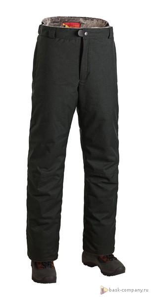 Брюки BASK THL URAL SOFT 3894Зимние мужские брюки с утеплителем премиум-класса Shelter&amp;reg;Sport.<br><br>&quot;Дышащие&quot; свойства: Да<br>Верхняя ткань: Advance® Alaska Soft Melange<br>Влагозащитные молнии: Нет<br>Влагонепроницаемость: 10000<br>Внутренняя ткань: Advance® Classic<br>Водонепроницаемость: 10000<br>Количество внешних карманов: 2<br>Коллекция: Pole to Pole<br>Объемный крой коленей: Да<br>Отстегивающийся задний клапан: Нет<br>Паропроницаемость: 5000<br>Пол: Муж.<br>Регулировка объема нижней части штанин: Да<br>Регулировка пояса: Да<br>Регулируемые бретели: Нет<br>Регулируемые вентиляционные отверстия: Нет<br>Самосбросы: Нет<br>Система крепления к нижней части брюк: Нет<br>Снегозащитные муфты: Нет<br>Съемные защитные вкладыши: Нет<br>Температурный режим: -20<br>Технология Thermal Welding: Нет<br>Тип утеплителя: синтетический<br>Тип шва: простые<br>Ткань усиления: Cordura<br>Усиление швов закрепками: Да<br>Утеплитель: Shelter®Sport<br>Функциональная молния спереди: Да<br>Размер RU: 58<br>Цвет: ЧЕРНЫЙ