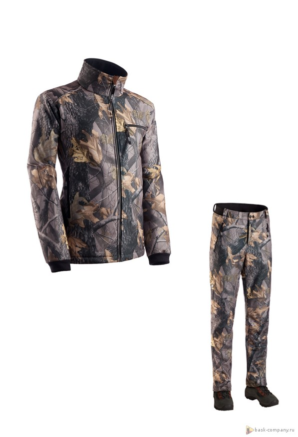 Костюм HRT WILD DUCK H5466Комбинезоны и костюмы<br>Охотничья куртка и  брюки из ткани Resist® Techno Soft Shell  для весны и осени.<br><br>Анатомический покрой локтевого сгиба и зоны коленей: Да<br>Верхняя ткань: Resist® Techno Soft Shell<br>Вес граммы: 1890<br>Влагозащитные свойства: Да<br>Внутренние манжеты: Нет<br>Водостойкость: 5000<br>Количество карманов: 5<br>Лицензионная расцветка: Realtree®<br>Наличие мембраны: Да<br>Отстегивающийся задний клапан: Нет<br>Пол: Унисекс<br>Регулировка манжетов рукавов: Застежки Velcro<br>Регулировка пояса: Да<br>Регулируемые бретели: Нет<br>Регулируемые вентиляционные отверстия: Да<br>Светоотражающая лента: Нет<br>Снегозащитные муфты: Нет<br>Съемные защитные вкладыши: Нет<br>Температурный режим: -5<br>Технология Thermal Welding: Нет<br>Тип молнии: Двухзамковая<br>Тип шва: Простой<br>Ткань усиления: Нет<br>Усиление контактных зон: Нет<br>Усиление швов закрепками: Нет<br>Размер INT: M<br>Цвет: ЗЕЛЕНЫЙ
