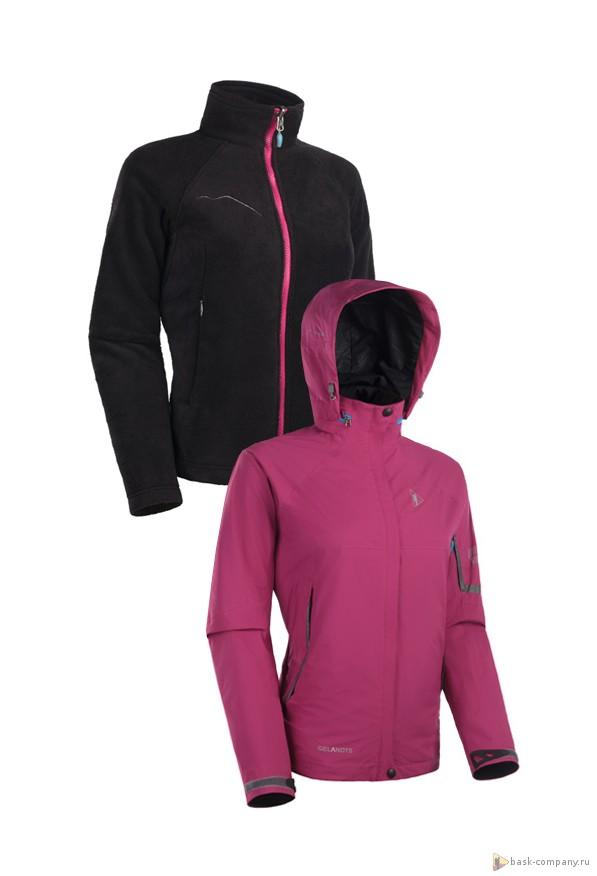 Куртка BASK KAMI LADY 3889Женская куртка два в одном, универсальный комплект для сложных погодных условий: верхняя куртка из мембраной ткани, подстёжка из мягкого флиса.&amp;nbsp;<br><br>Верхняя ткань: Gelanots® 2L<br>Вес граммы: 1430<br>Ветро-влагозащитные свойства верхней ткани: Нет<br>Ветрозащитная планка: Нет<br>Ветрозащитная юбка: Нет<br>Влагозащитные молнии: Нет<br>Внутренние манжеты: Нет<br>Внутренняя ткань: Polyester Mesh, Nylon Taffeta<br>Дублирующий центральную молнию клапан: Нет<br>Защитный козырёк капюшона: Нет<br>Карман для средств связи: Нет<br>Объемный крой локтевой зоны: Нет<br>Отстёгивающиеся рукава: Нет<br>Пол: Жен.<br>Проклейка швов: Нет<br>Регулировка манжетов рукавов: Нет<br>Регулировка низа: Нет<br>Регулировка объёма капюшона: Нет<br>Регулировка талии: Нет<br>Регулируемые вентиляционные отверстия: Нет<br>Световозвращающая лента: Нет<br>Технология Thermal Welding: Нет<br>Усиление контактных зон: Нет<br>Размер INT: L<br>Цвет: ЗЕЛЕНЫЙ
