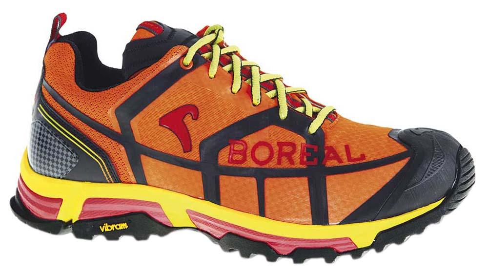 Кроссовки Boreal REPTILE B31630Легкие, удобные кроссовки для бега, мультиспорта, прогулок, использования в городе.<br><br>Вес пары размера 7 UK: 660<br>Мембрана: Нет<br>Подошва: Vibram Exmoor<br>Промежуточная подошва: EVA<br>Режим эксплуатации: Бег, мультиспорт, прогулки, город<br>Утеплитель: Нет<br>Размер RU: 45<br>Цвет: ОРАНЖЕВЫЙ