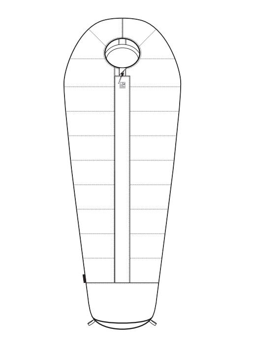 Спальный мешок BASK LADAKH XL -81 фото