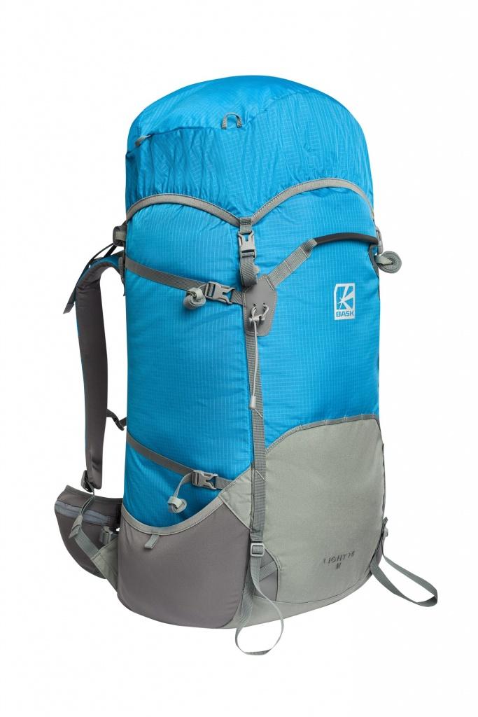 Рюкзак BASK LIGHT 75 V2 2323V2Рюкзаки<br>Новая серия легких рюкзаков объемом 75 л. У каждого объема есть два варианта спины: M и XL.Последние изменения:- Изменена цветовая схема рюкзака (сетки, фастексы теперь полностью серые), введен новый цвет (светло-голубой).- Изменена основная ткань. Теперь используется 210D Robic® Double Rip (аналогично серии NOMAD). Рюкзак сохранил практически тот же вес (стал тяжелее в зависимости от размера на 25-30 г), но стал прочнее.- Были изменены лямки – теперь к рюкзакам LIGHT 75 подходят аксессуары от серии NOMAD.- Пояс рюкзака теперь затягивается к центру (к фастексу) – это повышает удобство подгонки.- Мелкие изменения (изменены логотипы, петли для палок и ледового снаряжения стали регулируемыми, на боковых карманах для удобства добавлены петли-ухватки)LIGHT 75 V2MXLОбъем без клапана, г.6565Объем клапана, г.1010Вес, г.12371259Минимальный вес, г.714722Клапан, г.140141Коврик, г.165167Пояс, г.217229Вес, г. (без клапана и коврика)930950Внимание, скидка распространяется только для Команды БАСК и на первые 5 рюкзаков! Подтверждение скидки происходит по почте, указанной при регистрации аккаунта.<br><br>Анатомическая конструкция спины и ремней: Да<br>Вентиляция спины: Да<br>Вес граммы: 1237<br>Вес коврика: 165<br>Вес съёмного клапана: 140<br>Внутренние карманы: Да<br>Внутренняя перегородка: Нет<br>Грудной фиксатор: Да<br>Карманы на поясе: Да<br>Клапан: Съемный<br>Материал: 210D Robic® Double Rip<br>Минимальный вес: 714<br>Наружная навеска: Да<br>Объем л.: 75<br>Регулировка объема: Нет<br>Усиление дна: Да<br>Фурнитура: W.J., YKK®<br>Размер INT: XL<br>Цвет: СЕРЫЙ