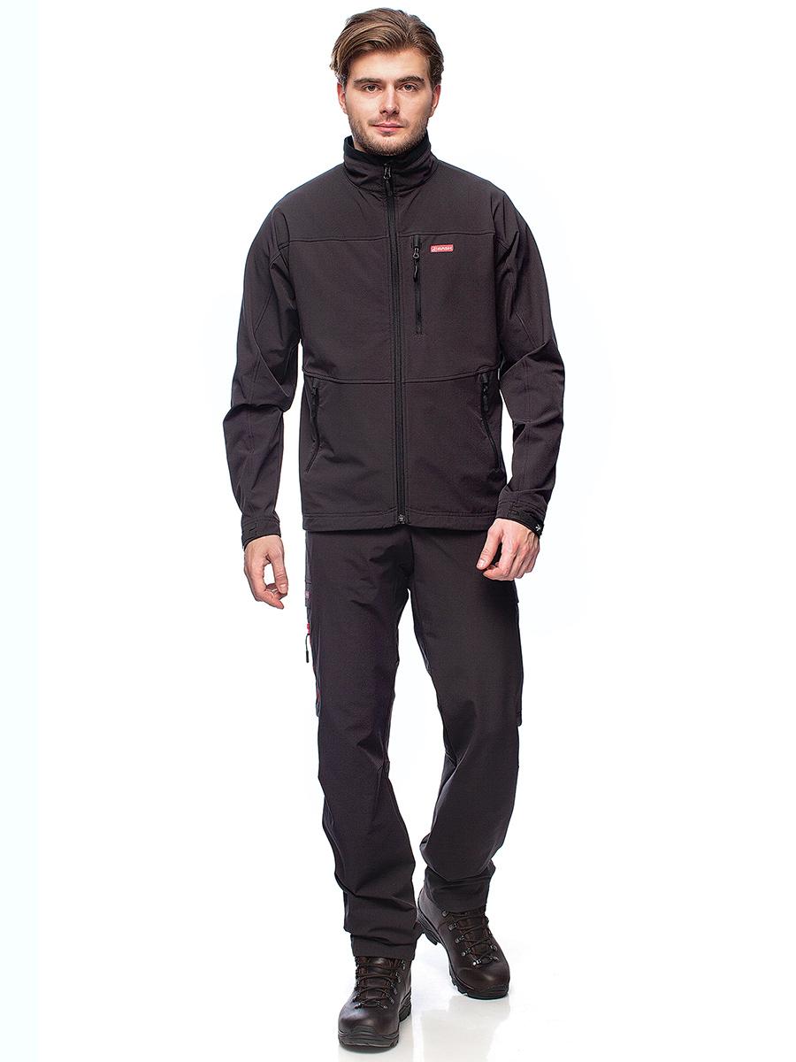 Куртка BASK TREK JKT 1195Флисовые куртки<br>Легкая и функциональная куртка для треккинга и прогулок из эластичной и прочной ткани.<br><br>Боковые карманы: 2<br>Вес граммы: 395<br>Материал: Advance® X Stretch<br>Нагрудные карманы: 1<br>Регулировка низа: Да<br>Тип молнии: Двухзамковая<br>Размер RU: 54<br>Цвет: ЧЕРНЫЙ