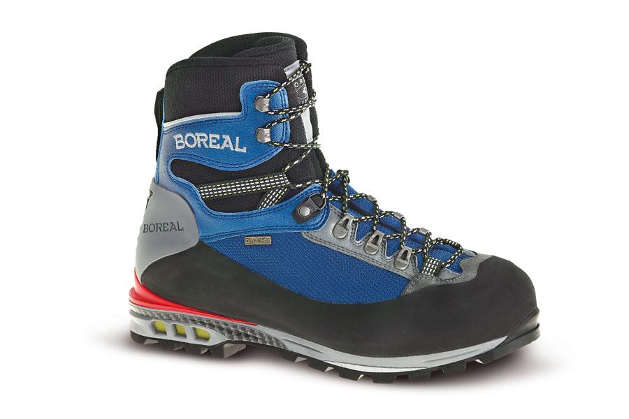 Ботинки Boreal TRIGLAV b47240Ботинки для летних восходжений и горных походов.<br><br>Вентиляция стельки: Нет<br>Вес пары размера 7 UK: 1491<br>Материал верха: Teramida, Lorica<br>Мембрана: Система Boreal Dry-Line®<br>Подошва: Vbram Mulaz<br>Пол: Унисекс<br>Промежуточная подошва: Boreal PBG 650<br>Рант для крепления &quot;кошек&quot;: Нет<br>Режим эксплуатации: летние восхождения, зимние прогулки по горам, путешествия по ледникам<br>Система виброгашения: Нет<br>Система отвода влаги: Boreal Dry-Line<br>Цельнокроеный верх: Нет<br>Размер RU: 42.5<br>Цвет: НЕИЗВЕСТНЫЙ
