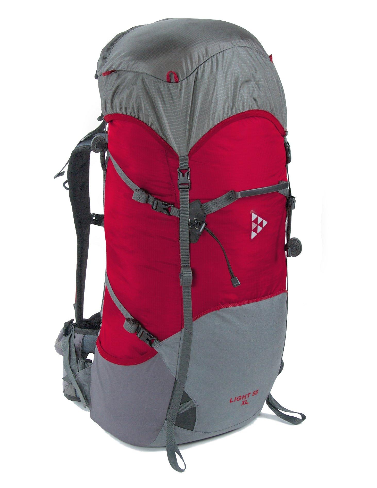 Рюкзак BASK LIGHT 55 XL 5205Новинка! Облегченный туристический рюкзак 55 литров с увеличенной длиной спины. Пояс, верхний клапан и внутренний коврик - съемные.<br><br>Анатомическая конструкция спины и ремней: Да<br>Вентиляция спины: Да<br>Вес граммы: 1177<br>Вес коврика: 0.148<br>Вес съёмного клапана: 0.123<br>Внутренние карманы: Да<br>Внутренняя перегородка: Нет<br>Возможность крепления сноуборда/скейтборда/лыж: Нет<br>Грудной фиксатор: Да<br>Карман для гидратора: Нет<br>Карман для средств связи: Нет<br>Карманы на поясе: Да<br>Клапан: съемный<br>Минимальный вес: 0.683<br>Назначение: трекинговый<br>Накидка от дождя: Нет<br>Наружная навеска: навесная система позволяет крепить специальное снаряжение<br>Наружные карманы: Да<br>Нижний вход: Нет<br>Объем л.: 55<br>Регулировка объема: Да<br>Регулировка угла наклона пояса: Нет<br>Светоотражающий кант: Нет<br>Система подвески: система подвески регулируется<br>Ткань: 100D Robic® Triple Rip 2000 мм Н2О UTS<br>Усиление: 210Dx420D  Robic® Kodra<br>Усиление дна: Да<br>Фурнитура: W.J., YKK®<br>Цвет: КРАСНЫЙ
