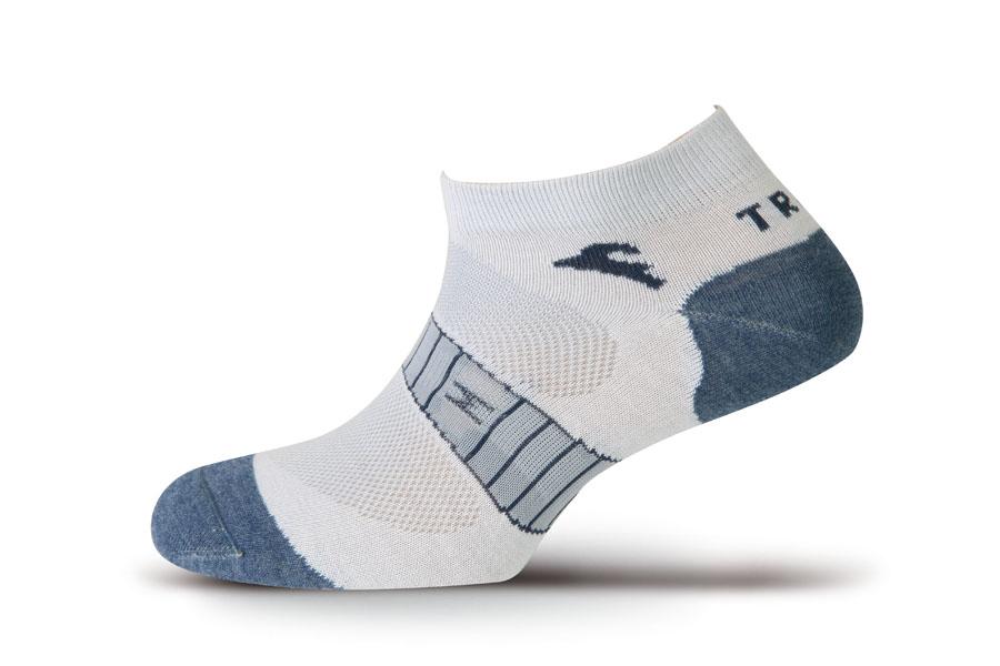 Носки Boreal TRAIL BREATH COOLMAX BLUE B639Низкие ультралегкие носки для занятий спортом в теплую и жаркую погоду.<br><br>Материал: 80% Coolmax 17% Polyamide 3% Elastane<br>Пол: Унисекс<br>Усиление: Да