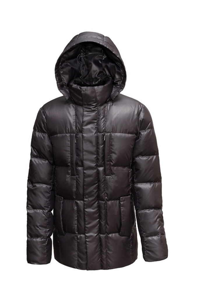 Куртка BASK ARKTUR 1516Куртки<br><br><br>Капюшон: Съемный<br>Количество внешних карманов: 4<br>Пол: Мужской<br>Технология швов: Простые<br>Утеплитель: Гусиный пух<br>Размер RU: 56<br>Цвет: СЕРЫЙ
