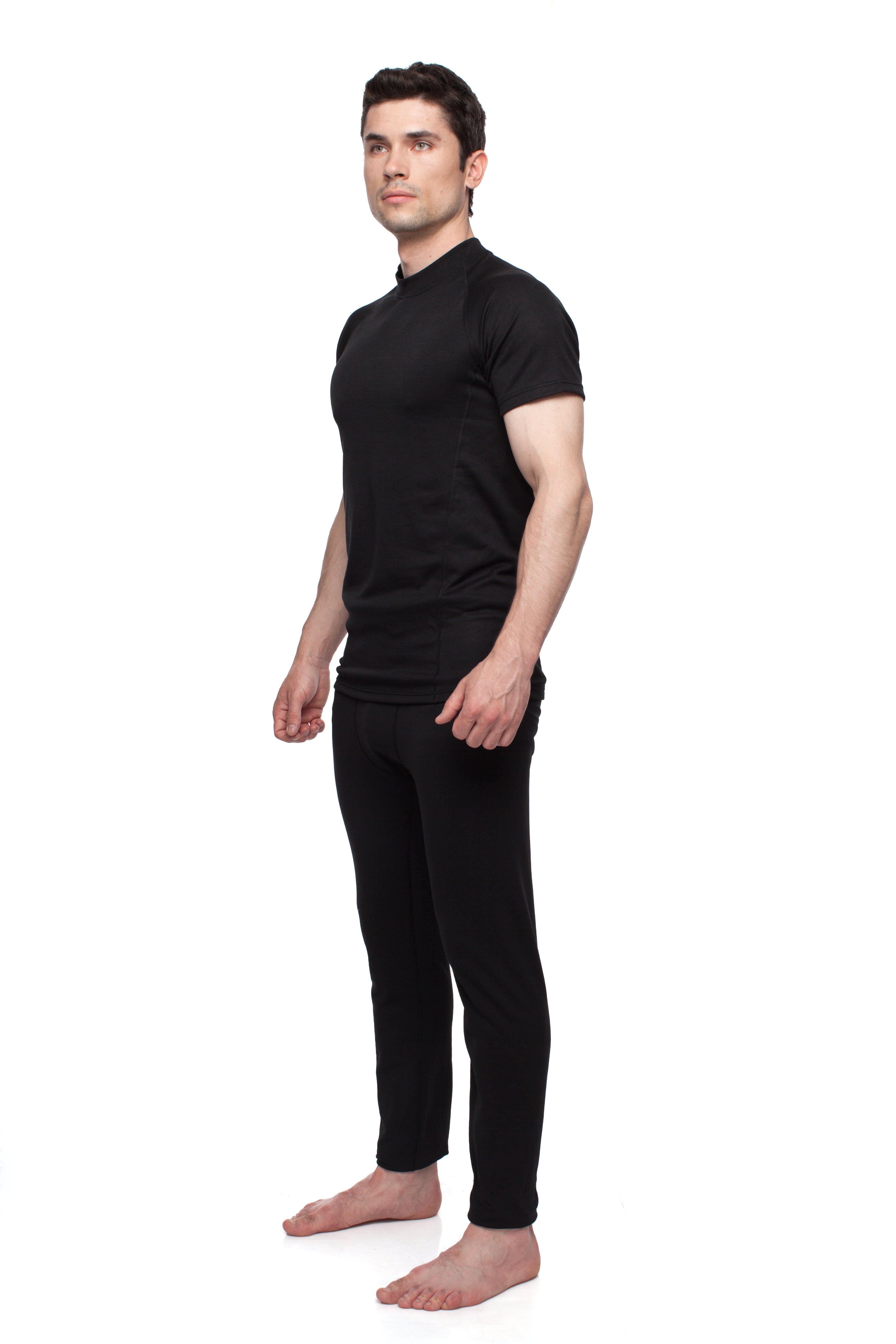 Футболка BASK BALANCE U TEE V2 9811aФутболка для мужчин из ткани&amp;nbsp;Polartec® Power Dry, для спорта и всех видов физической активности.&amp;nbsp;Удобный анатомический крой не сковывает движений.<br><br>Вес изделия: 180<br>Воротник: Нет<br>Материал: Polartec® Power Dry®<br>Молнии: Нет<br>Плотность ткани: 183<br>Пол: Муж.<br>Тип шва: плоский<br>Функциональная задняя молния: Нет<br>Размер INT: L<br>Цвет: ЧЕРНЫЙ