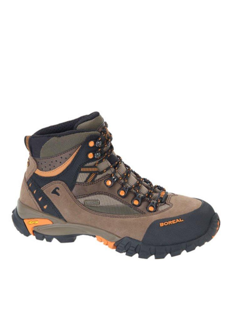 Ботинки Boreal CHEROKEE LADY BS44886Женские ботинки для легкого треккинга, несложных походов, прогулок по пересеченной местности и путешествий.<br><br>Вес пары размера 7 UK: 1.04<br>Материал верха: 2-миллиметровая водонепроницаемая кожа премиум качества со вставкой из Teramida SL<br>Мембрана: Система Boreal Dry-Line®<br>Подошва: Vibram Nuasi<br>Пол: Жен.<br>Промежуточная подошва: Boreal PXF<br>Размер (Россия): 4 - 8 U.K. (включая полуразмеры)<br>Режим эксплуатации: легкий треккинг, несложные походы, прогулки по пересеченной местности,. путешествия<br>Система виброгашения: Да<br>Размер RU: 37.5<br>Цвет: РАЗНОЦВЕТНЫЙ