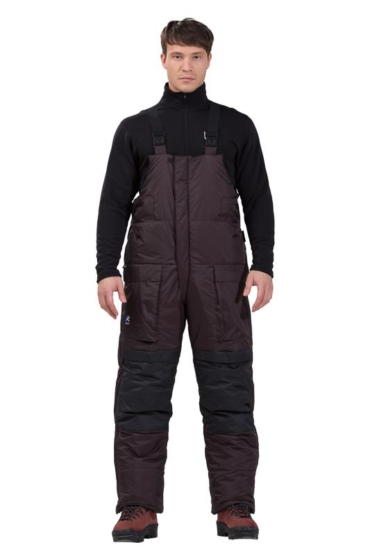 Полукомбинезон BASK NORTHWIND V3 z5903aПуховый полукомбинезон для экстремально холодных условий, в сочетании с курткой KHAN-TENGRI составляет костюм для высотных альпинистских восхождений.<br><br>Верхняя ткань: Pertex Endurance<br>Вес граммы: 0.9<br>Вес утеплителя: 250<br>Влагозащитные молнии: Нет<br>Внутренняя ткань: Pertex Classic<br>Количество внешних карманов: 2<br>Количество внутренних карманов: 2<br>Объемный крой коленей: Да<br>Отстегивающийся задний клапан: Да<br>Пол: Унисекс<br>Регулировка объема нижней части штанин: Нет<br>Регулировка пояса: Нет<br>Регулируемые бретели: Да<br>Регулируемые вентиляционные отверстия: Нет<br>Самосбросы: Нет<br>Система крепления к нижней части брюк: Нет<br>Снегозащитные муфты: Да<br>Съемные защитные вкладыши: Нет<br>Температурный режим: -30<br>Технология Thermal Welding: Нет<br>Тип утеплителя: натуральный<br>Тип шва: закрытые<br>Ткань усиления: Pertex Endurance<br>Усиление швов закрепками: Нет<br>Утеплитель: гусиный пух<br>Функциональная молния спереди: Да<br>Размер RU: 48<br>Цвет: ЧЕРНЫЙ